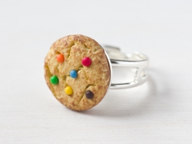 Bague gourmande cookie