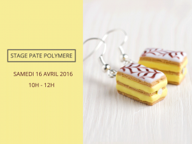 Stage pâte polymère mille-feuilles