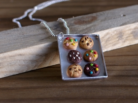 Collier long cookies