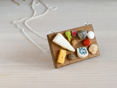 Collier plateau de fromages